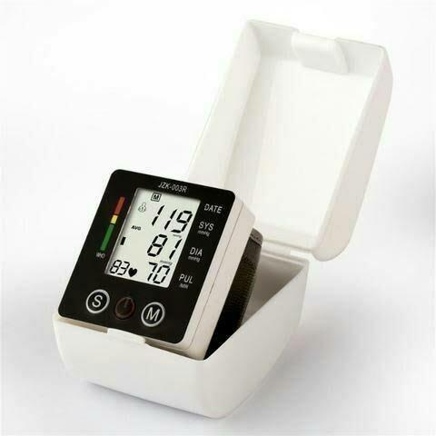 Medidor de pressao arterial digital de pulso - jy-w688