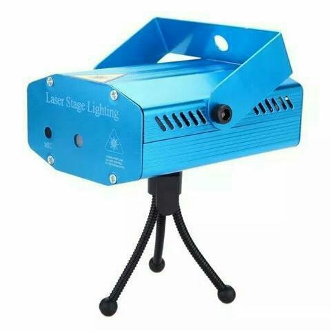 Mini canhão laser iluminação para festas