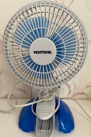 Mini ventilador portátil de tomada