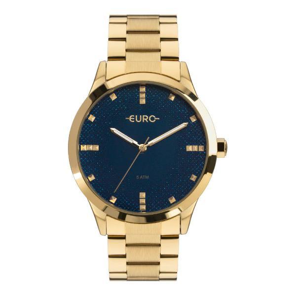 Relógio euro glitter fever feminino dourado eu2036yoj/4a