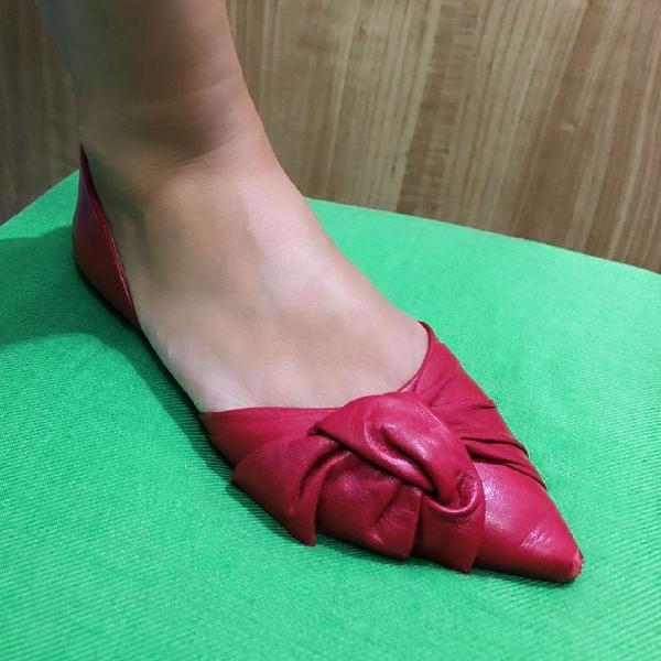 Sapatilha arezzo vermelha