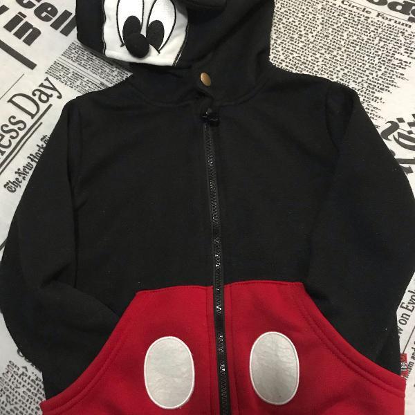 Blusa de frio infantil mickey mouse