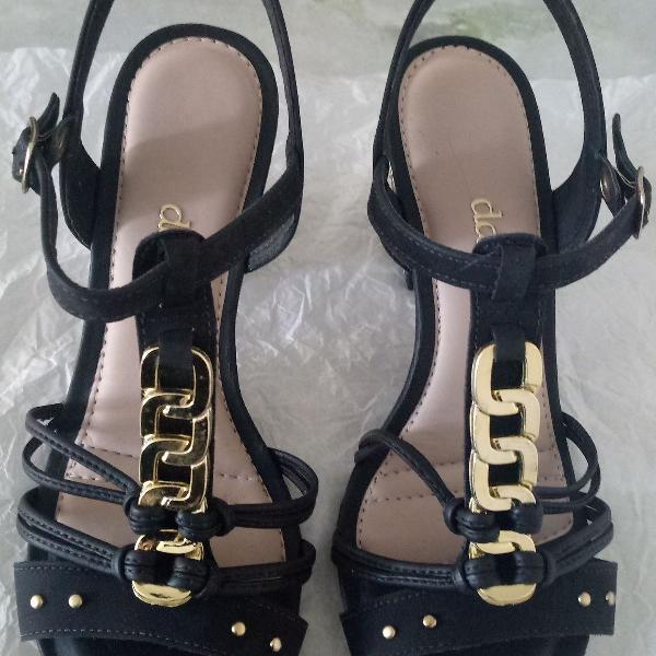 Linda sandália feminina dakota