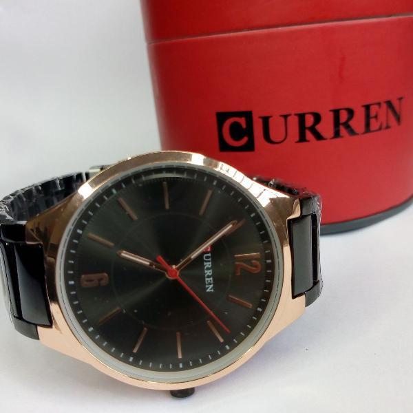 Produto novo, relógio unissex curren analógico 8280 -