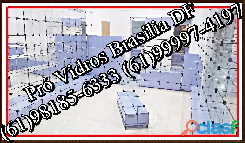 Vitrines em Vidro Temperado,(61)98185 6333,Brasília, DF, temos tudo a PRONTA ENTREGA, frete grátis 5