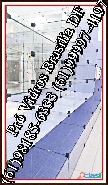 Vitrines em Vidro Temperado,(61)98185 6333,Brasília, DF, temos tudo a PRONTA ENTREGA, frete grátis 3