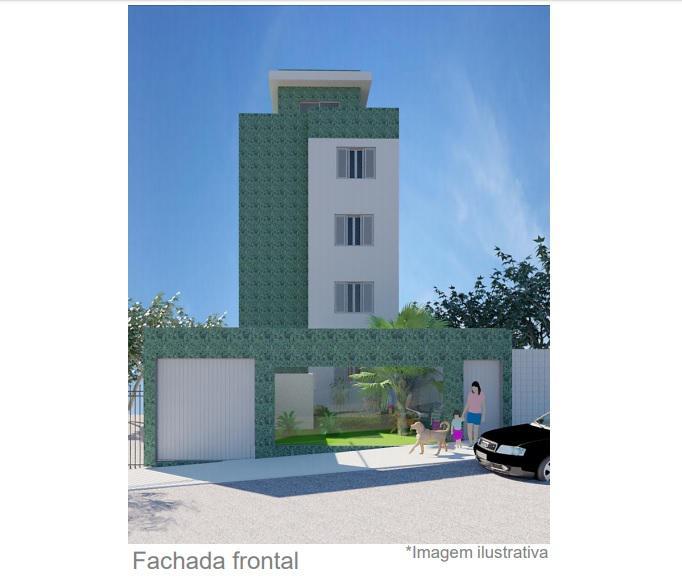 Apartamento 3 quartos em prédio novo no bairro sagrada