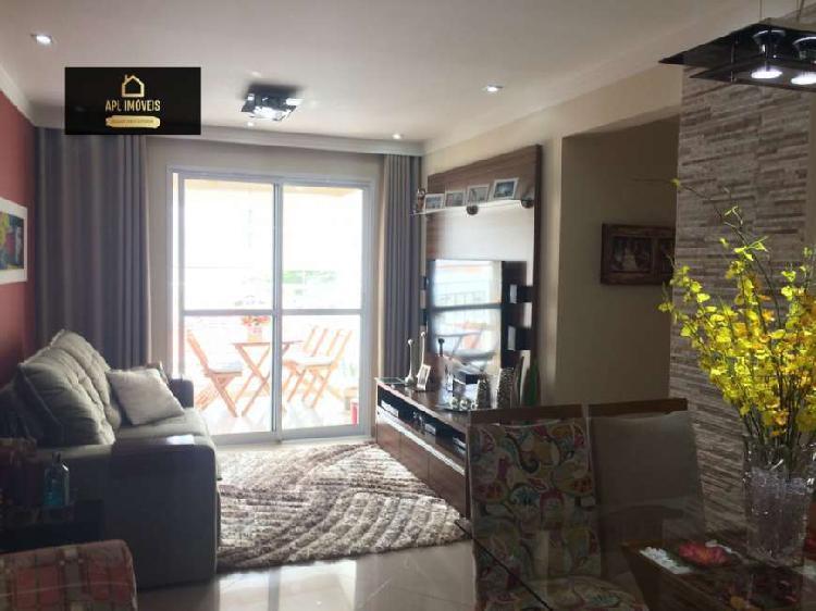 Apartamento padrão para venda em vila augusta guarulhos-sp