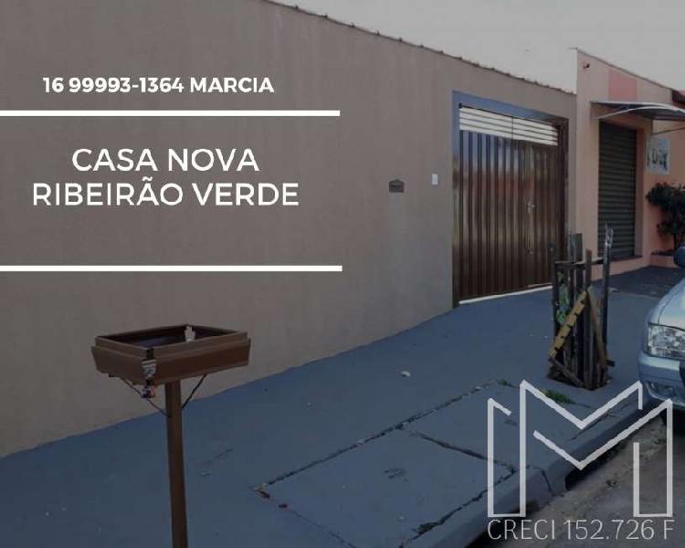 Casa a venda ribeirão verde pmcmv