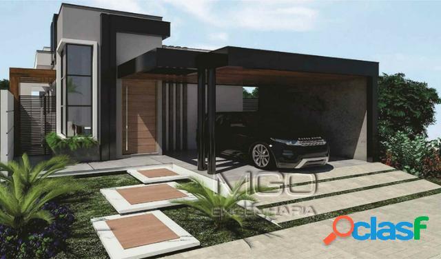 Bela casa térrea moderna - altos da serra vi