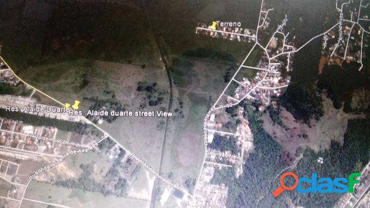 Terreno em potecas,são josé 723 m² viab. 4 pav.