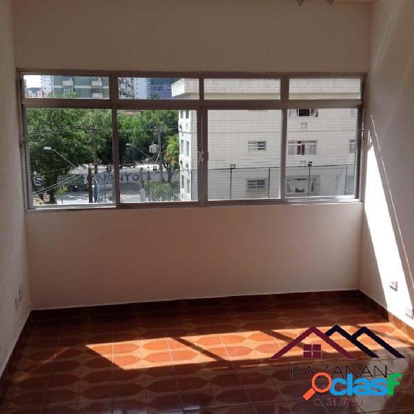 Apartamento 2 dorm - 1 vaga privativa - prox av ana costa - santos