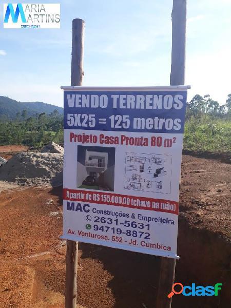 Vende terreno 10 x 25 - loteamento fechado - mairiporã - sp