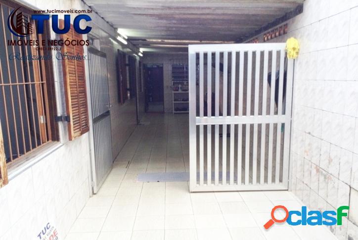 Casa térrea c/02 dorms churrasqueira,4 vagas 200mil entrada-jd laura-s.b.c