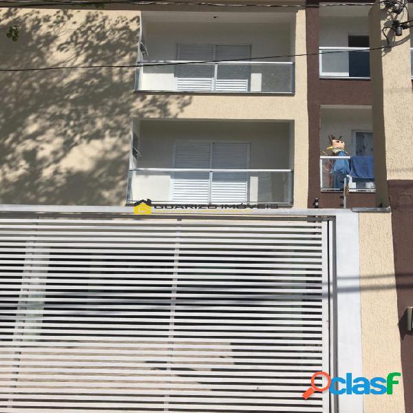 Apartamento novo á venda 2 quartos (1) sute - jd guaraciaba - santo andré