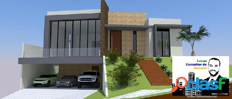 Casa térrea à venda no condomínio bosque do horto em jundiaí