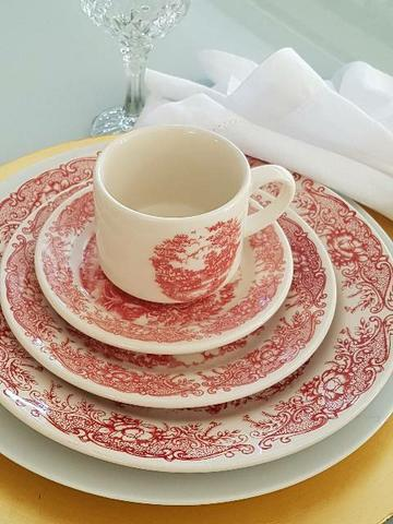 Aparelho jantar chá mod jngles
