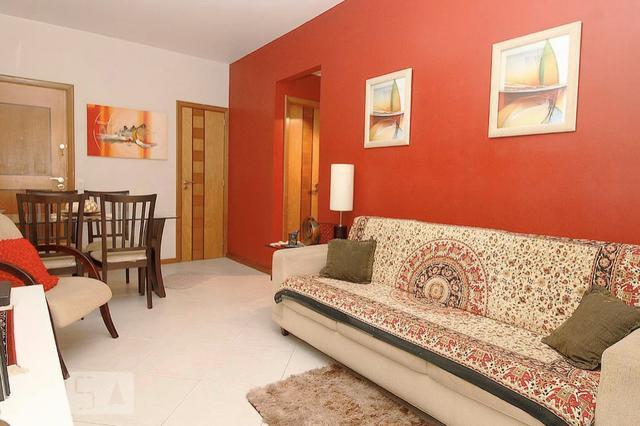 Apartamento copacabana rua duvivier 2 quartos, mobiliado, 1