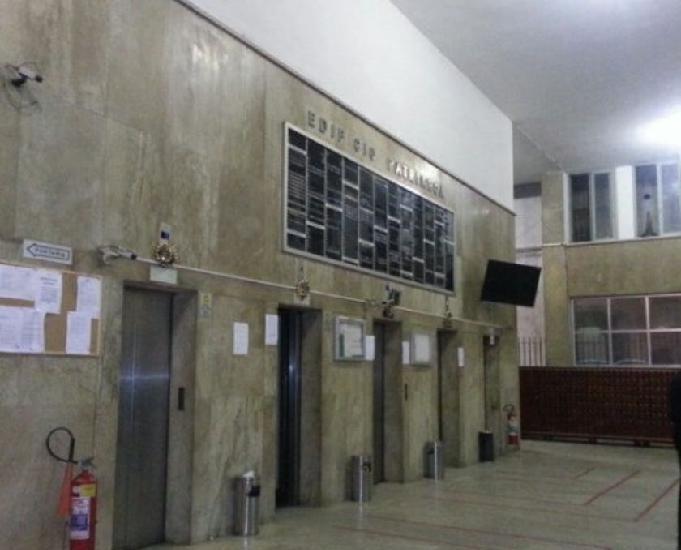 Apt no edifício patriarca, centro do rj ac caixa e fgts