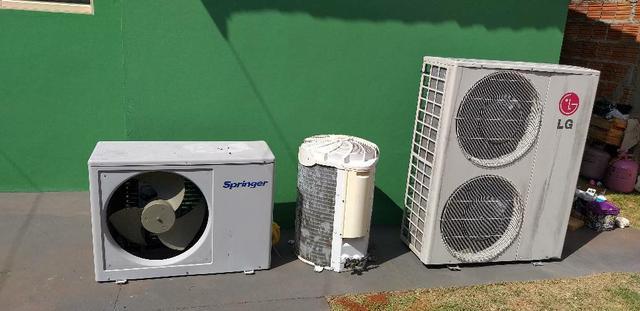 Ar condicionados para retirar peças ou revisar