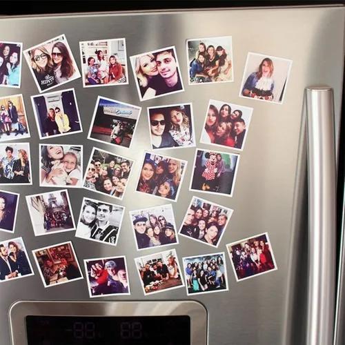 Foto imã de geladeira imã com foto - 32 unid