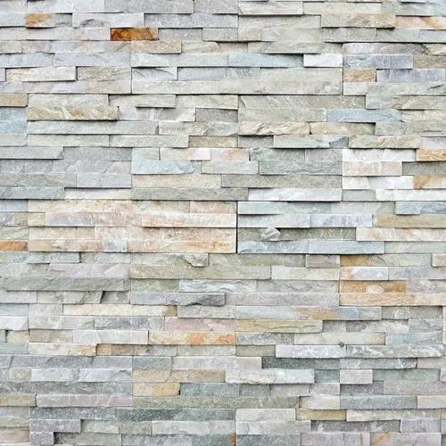 Papel de parede 3d pedras cinza vinílico