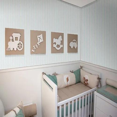Papel de parede infantil bebê criança quarto 10 metros
