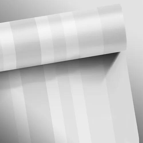 Papel de parede listras médias clear cinza claro 0,58x3,00m