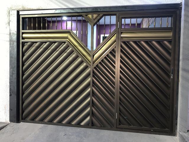 Portões de aluminio eletrônico na promoção