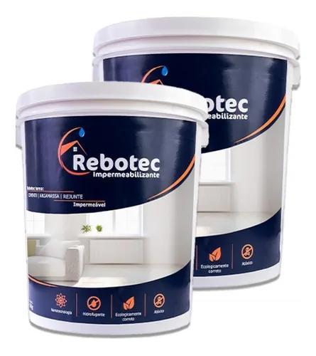 Rebotec impermeabilizante 8kg original rebotec sp