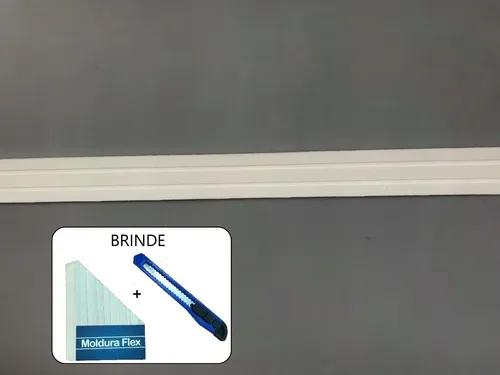 Rodameio eva flexível autoadesivo 5cmx0,5cm siena 12 metros