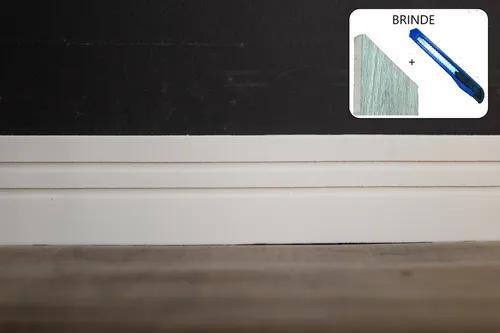 Rodapé eva flexível autoadesivo 7cm x 0,5cm napoli 06