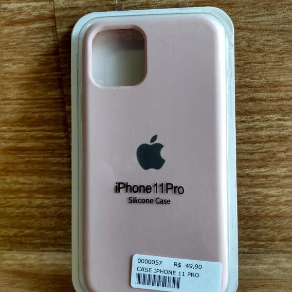Case silicone iphone 11 pro