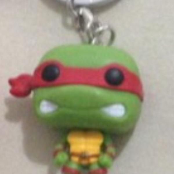 Chaveiro funko tartaruga ninja raphael novo sem uso r$39