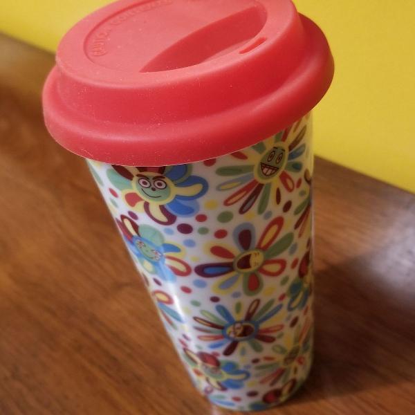Copo cafe/cha cerâmica