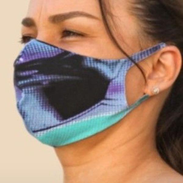 Kit máscara de proteção reutilizável c/8 unidades