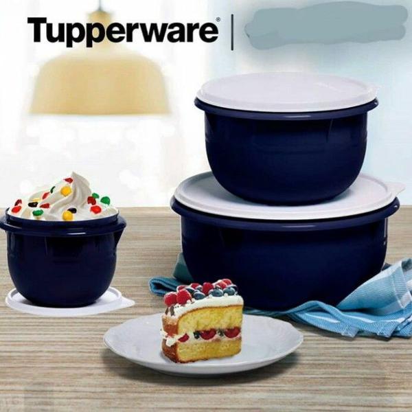 Tupperware kit tigelas batedeira