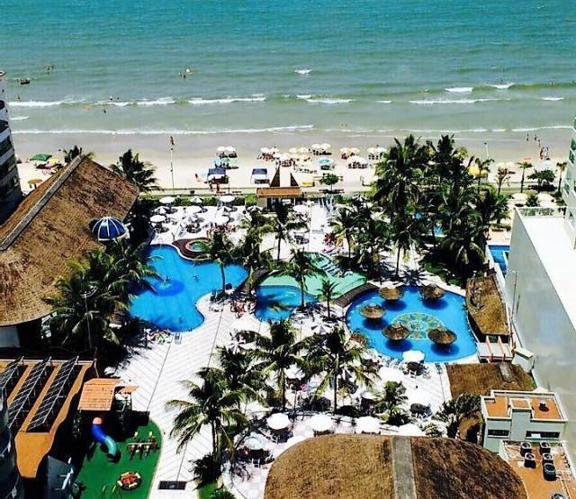 Apartamento condomínio luxo frente mar_ piscina_ area