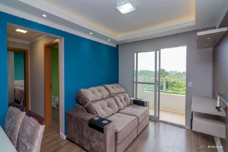 Apartamento à venda de 2 dormitórios com suíte e sacada