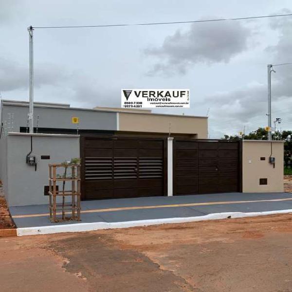 Casa 2 quartos - res vereda dos buritis - goiânia/ go