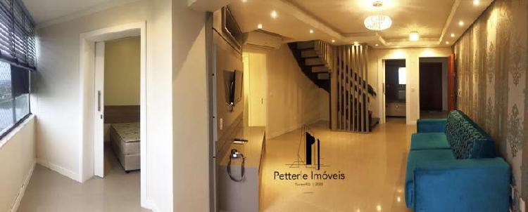 Cobertura 4 quartos 3 banheiros 2 garagem torres rs