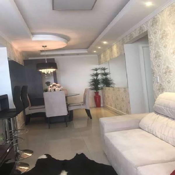 Lindo apartamento mobiliado, 2 quartos, elevador, garagem,