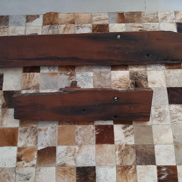 Prateleiras madeira