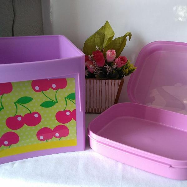 Tupperware kit lilás