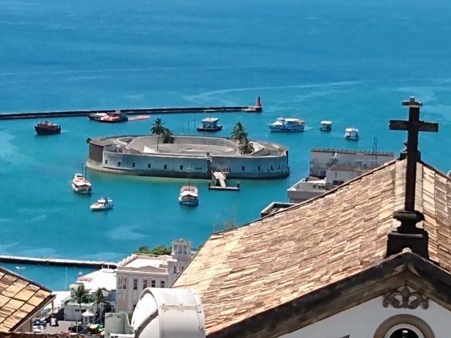 Vista Maravilhosa da Bahia de todos os Santos