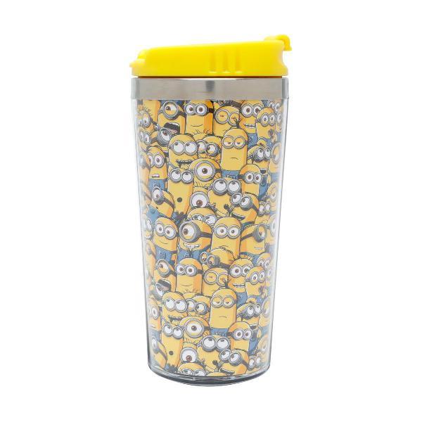 copo térmico minions amarelo meu malvado favorito