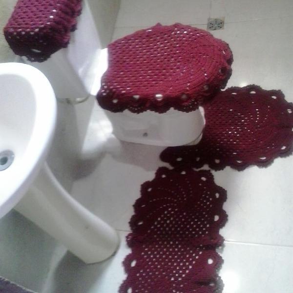 Jogo de banheiro luxo