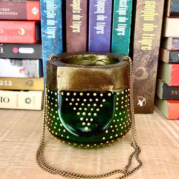 Lanterna marroquina verde
