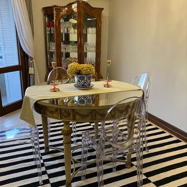 Mesa de jantar de versaille