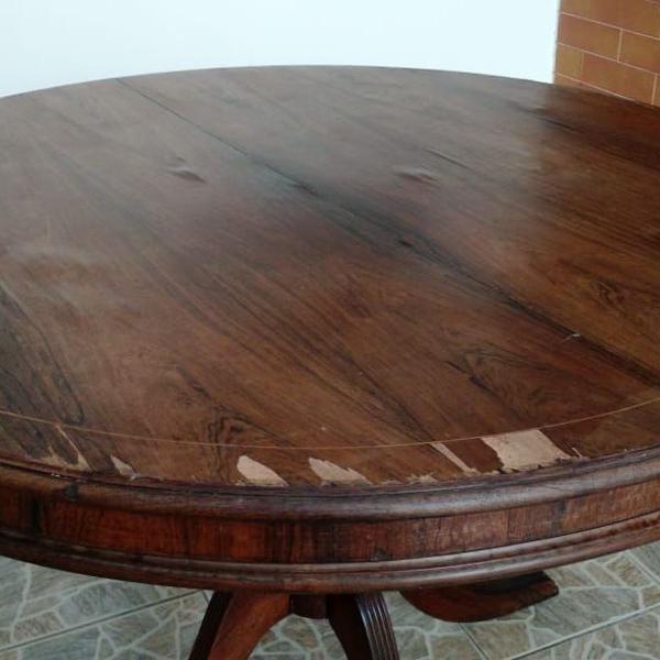 Mesa de madeira jacarandá de jantar